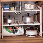 Home - Under Sink Expandable Shelf