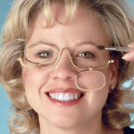 Eye, Ear & Throat - Magnifying Makeup Glasses