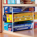 Kitchen Wrap Organizer & Freezer Organizer
