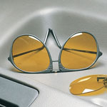 Eye, Ear & Throat - Night Driving Aviator Glasses