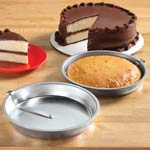Bakeware & Cookware - Easy Release Cake Pans - Set Of 2