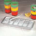 Gadgets & Utensils - Aluminum Ice Cube Tray