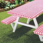 Table Top & Entertaining - Elastic Picnic Table Cover