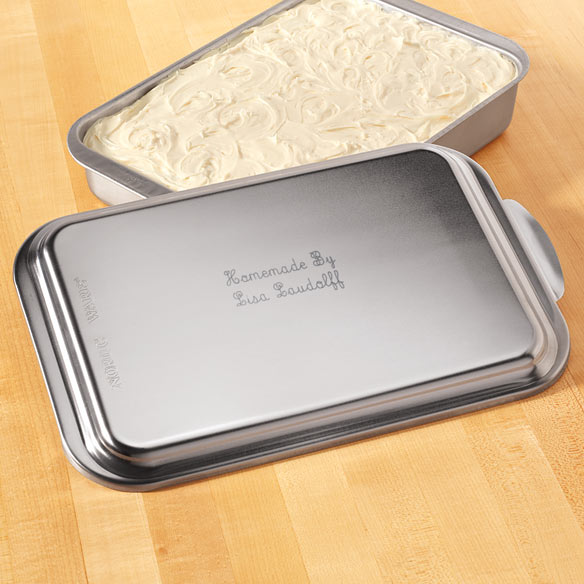 Personalized Cake Pan With Lid