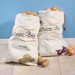 Food Storage - Sprout-free Vegetable Bags