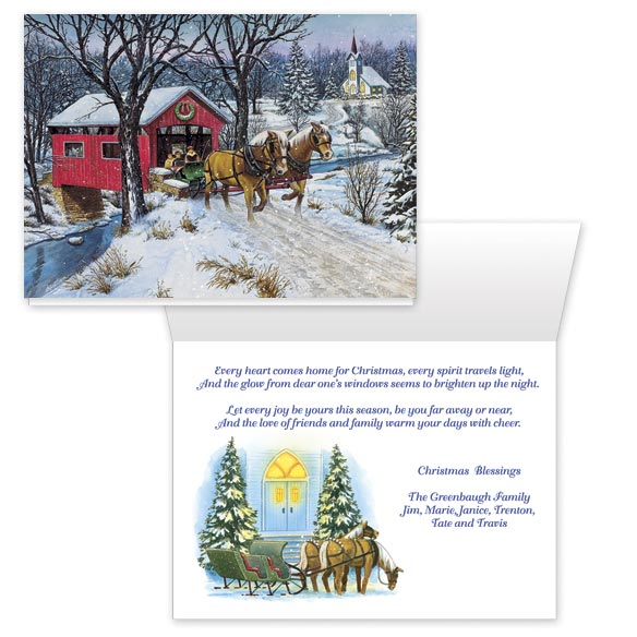 Home for Christmas Card Set/20 - View 1