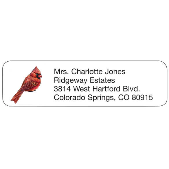 Cardinals Return Address Labels