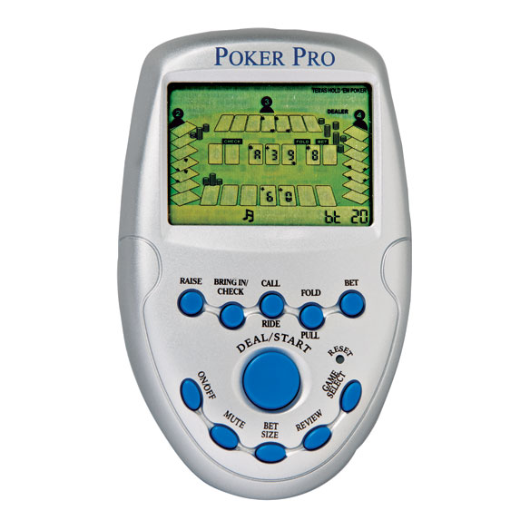 Handheld Poker Game