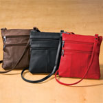 Health, Beauty & Apparel - Leather Crossbody Messenger Bag