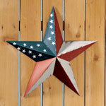Decorations & Storage - American Barn Star by Maple Lane Creations™