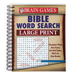 Books & Videos - Large Print Bible Word Search