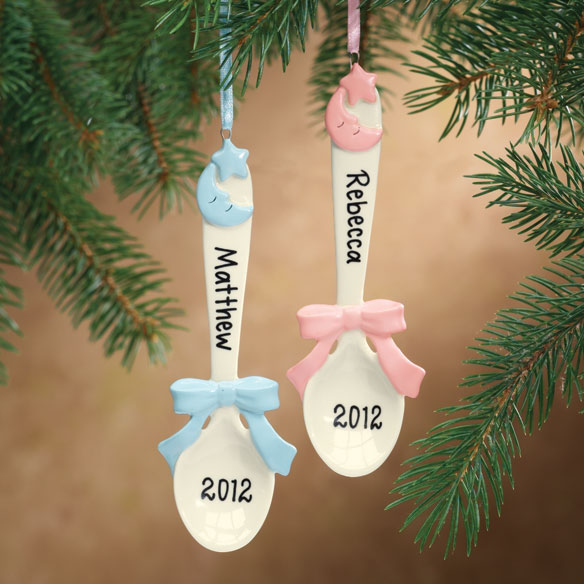 Baby Spoon Ornament