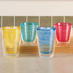 Outdoor Entertaining - Insulated Tumblers Set Of 4