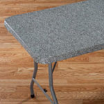 Table Top & Entertaining - Granite Elasticized Banquet Table Cover