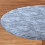 Table Top & Entertaining - Marbled Elasticized Table Cover