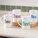 Table Top & Entertaining - Personalized Coffee Mug