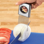 Gadgets & Utensils - Easy Grip Onion Slicer