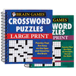 Books & Videos - Large Print Crossword