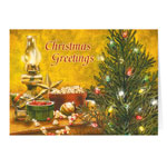 Christmas Cards - Trimming the Tree Christmas Card Set of 20
