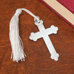 Books & Videos - Metal Cross Bookmarks, Set of 10