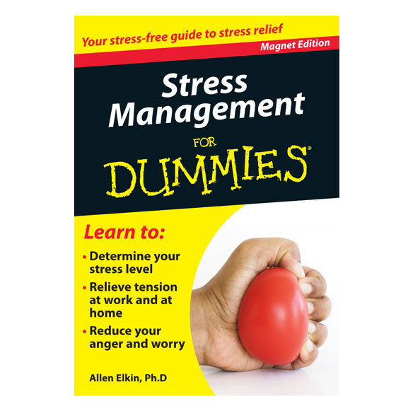 Stress Management Refrigerator Magnet Book For Dummies®