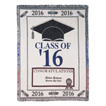 Gifts for All - Personalized 2016 Graduation Afghan