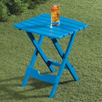 Outdoor Entertaining - Bright Outdoor Folding Side Table