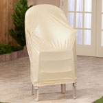 Maintenance & Repair - Beige Stacking Chair Cover