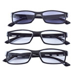 Eye, Ear & Throat - Reading Glasses with Sunreader, Set of 3