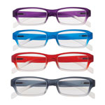 Eye, Ear & Throat - Colorful Ombre Readers with Spring Hinge