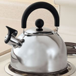Bakeware & Cookware - Stainless Steel Whistling Tea Kettle by Home-Style Kitchen™