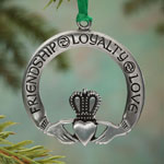 Decorations & Storage - Friendship, Loyalty, Love Pewter Ornament