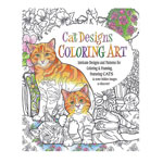 Gifts for All - Cat Designs Coloring Book