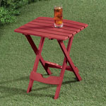 Outdoor Entertaining - Quick Fold Table, Earth Tones
