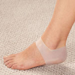 Mobility, Braces & Footcare - Healthy Steps™ Silicone Gel Heel Sleeve, 1 Pair