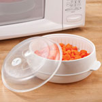 Bakeware & Cookware - Microwave Steamer Basket by Home-Style Kitchen™