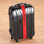 New - Personalized Red Luggage Strap