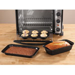 Bakeware & Cookware - Toaster Oven Baking Pans Set of 3 by Home-Style Kitchen ™