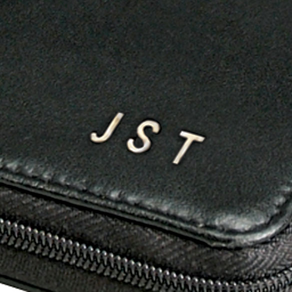 Personalized Leather Zipper Wallet - View 2