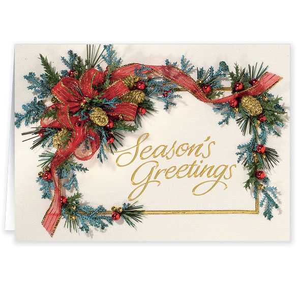Personalized Seasons Greetings Cards - View 2