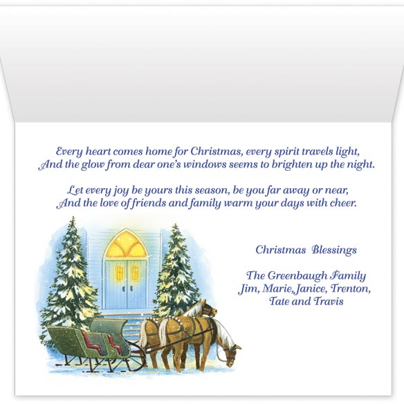 Home for Christmas Card Set/20 - View 3