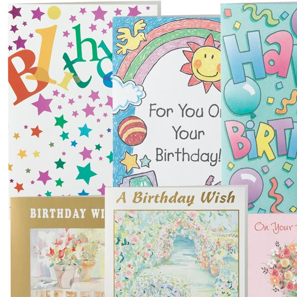 Assorted Birthday Cards - Set Of 24 - View 2