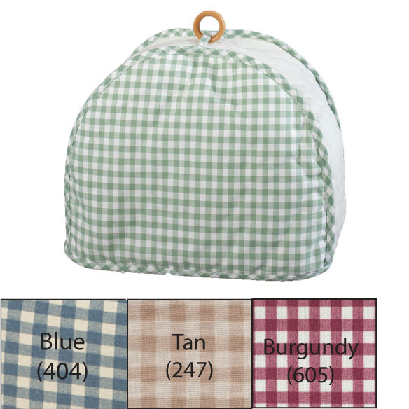 Gingham 2 Slice Toaster Cover - View 2