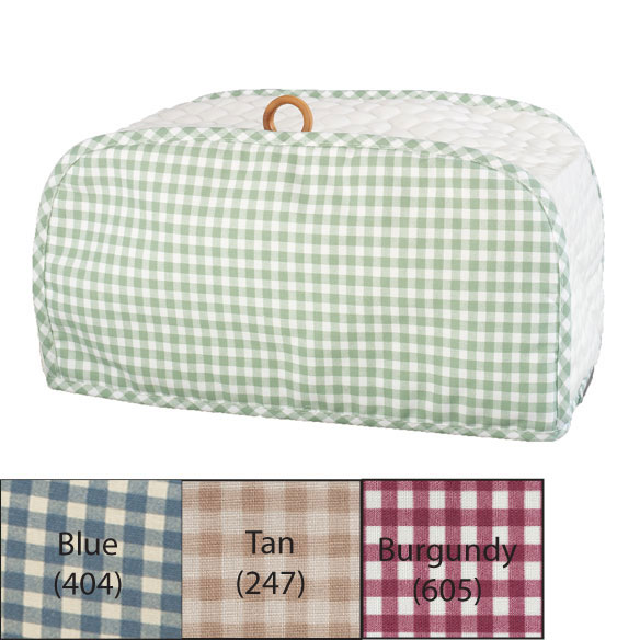 Gingham Toaster Oven Cover - View 2