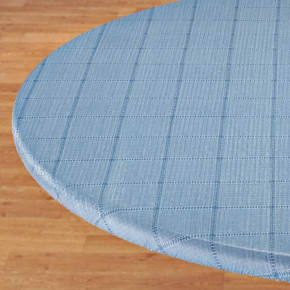 Woven Lattice Elasticized Table Cover - View 4