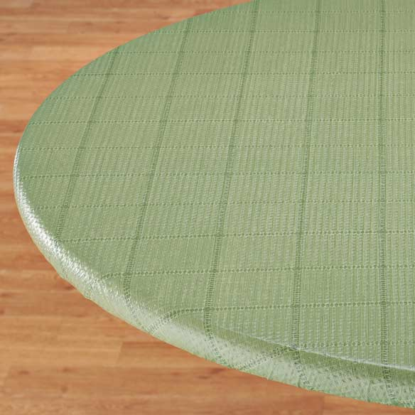 Woven Lattice Elasticized Table Cover - View 5