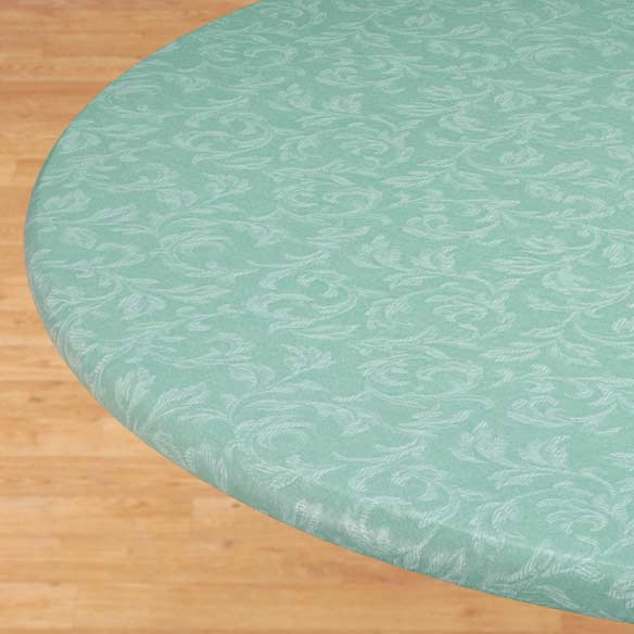 Villa Elastic Round Tablecloth - View 3