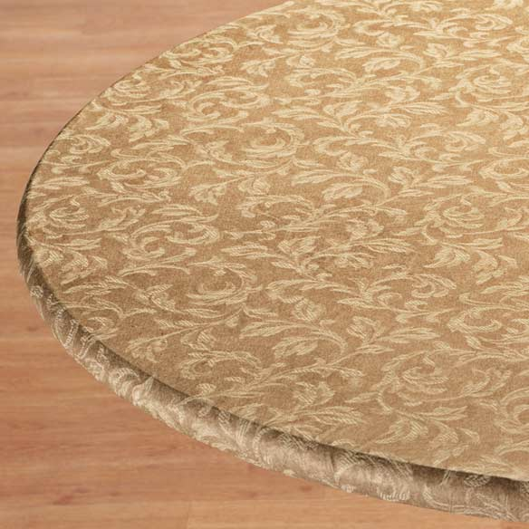 Villa Elastic Round Tablecloth - View 4