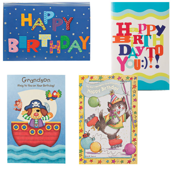 Happy Birthday Cards For Kids - Pack Of 24 - View 2