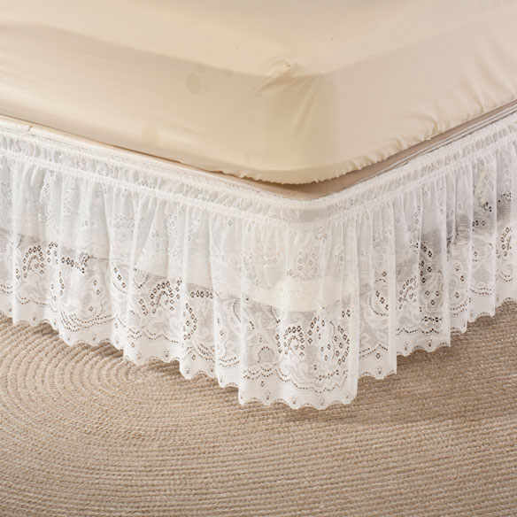 Lace Bed Ruffle - View 3